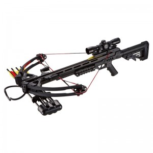 X-BOW Wasp - 185 lbs / 370 fps -  Black