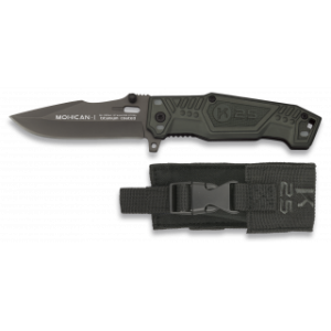 19544 Pocket knife K25. MOHICAN I. black