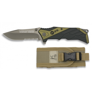 19655 Tactical pocket knife K25 Green