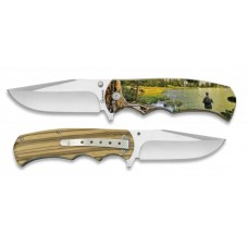 18257+3D015 Pocket knife ALBAINOX FISHING 8.8 cm
