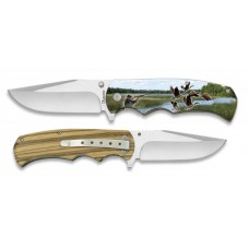 18257+3D017 Pocket knife ALBAINOX DUCKS 3D 8.8 cm
