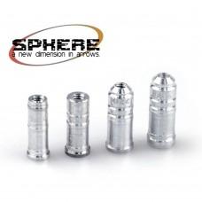 Алюминевый INSERT SPHERE для алюминевых стрел и арбалетных болтов.