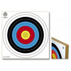 Straw target. 80x80 cm