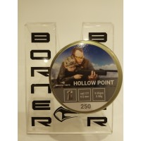 "184652 Пули Borner "" Hollow Point "" cal. 4,5 mm (250 pcs ) 0,58 g ( 9,00gr)"
