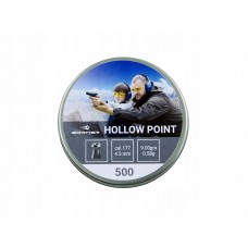 "184653 Пули Borner "" Hollow Point "" cal. 4,5 mm (500 pcs ) 0,58 g ( 9,00gr)"