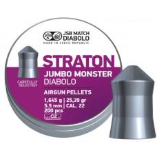 K0574 Diabolo JSB Straton Jumbo Monster cal .22 ( 5,5 mm ) 200штук