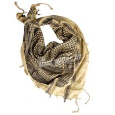 Арабский шарф арафатка жёлто-чёрный 110х110 см