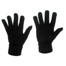 Перчатки MIL-TEC зимние вязаные Black