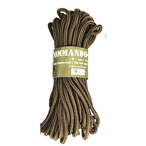 Mil-Tec Commando-Seil 15m Oliv