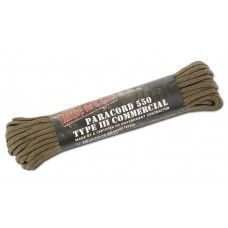 TEESAR INC. - PARACORD 4 MM - 30.48M - COYOTE BROWN