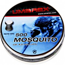 33820 Umarex Mosquito Flathead Ribbed .177 ( 4,5 mm ) Pellets