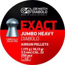 K0576 JSB Exact Jumbo Heavy Diabolo 5.52 мм 250 штук
