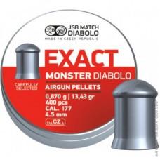 K0579 EXACT MONSTER DIABOLO 4.52mm 400 штук