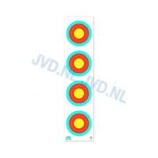 JVD Target Face 6-7-8-9-10 4X15 Crossbow