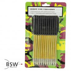 Alubolzen BOLT WF - 6,5 Zoll / 168er - 12er Pack