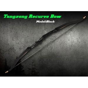 "TanZong Recurve Bow 68"" Black Model"