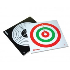 CARDBOARD TARGETS 3-colours, standard, competition pattern