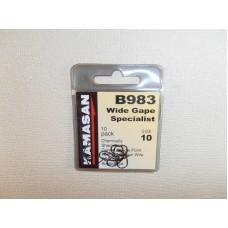 Kamasan Wide Gape Specialist B 983 Gr. 10