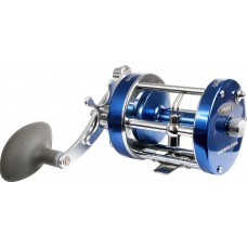 Fladen Warbird Multiplier Reel Right Handed - Blue, 3700